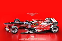Formula 1 designs from 2030