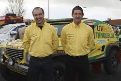Lino Carapeta and Ricardo Corticadas