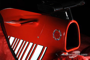 Teaser picture of the new Ferrari F1 2008 contender