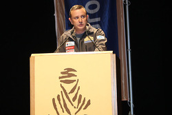 Dakar organiser Etienne Lavigne brings the bad news about the Dakar 2008 cancellation