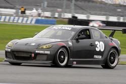 #30 Racers Edge Motorsports Mazda RX-8: Ken Dobson, Bob Michaelian, Jim Michaelian