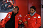 Luca Badoer and Felipe Massa
