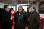 Stefano Domenicali, Piero Ferrari and Luca di Montezemolo
