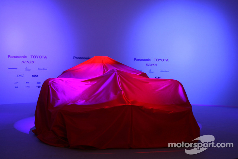 The new Toyota TF108 under veil