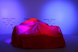 The new Toyota TF108 under veil