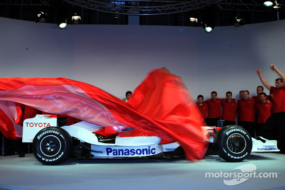 The new Toyota TF108 is unveiled