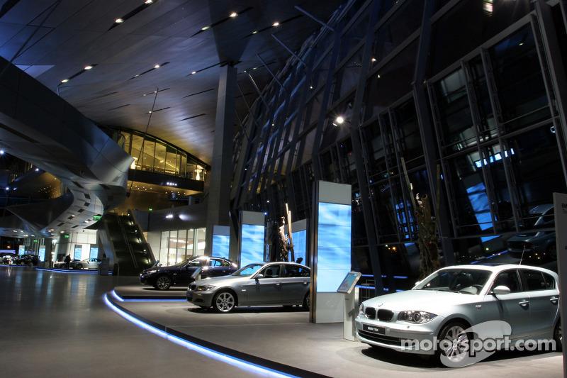 Inside BMW Welt