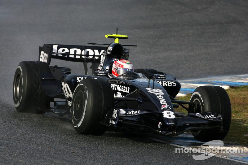 Kazuki Nakajima, Williams F1 Team, FW28 Concept car- Formula 1 Testing, Jerez
