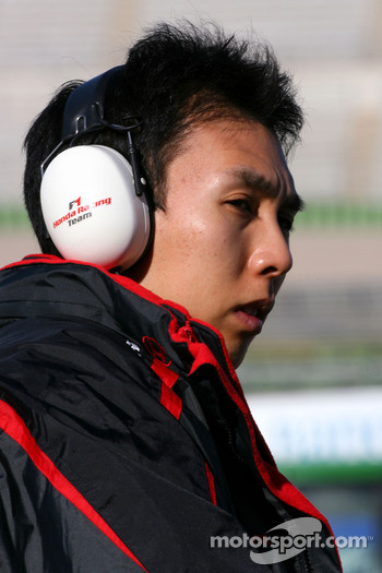 Takashi Kogure, Test Driver, Honda Racing F1 Team