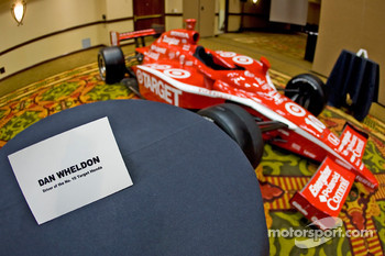 Chip Ganassi Racing with Felix Sabates: the IRL IndyCar Series car of Dan Wheldon