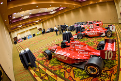 Chip Ganassi Racing with Felix Sabates: the IRL IndyCar Series car