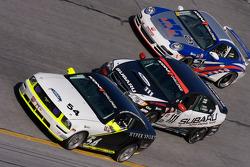 #54 Hyper Sport Ford Mustang GT: Joe Middlebrooks, Rick Skelton, #111 ICY/ Phoenix Racing Subaru Legacy: Chuck Hemmingson, Kristian Skavnes, #21 Motorsport Technologies Porsche 997: Andrew Davis, Tom Milner