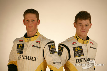 Romain Grosjean and Ben Hanley