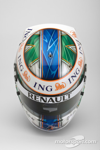 Helmet, Lucas Di Grassi, Test Driver, Renault F1 Team