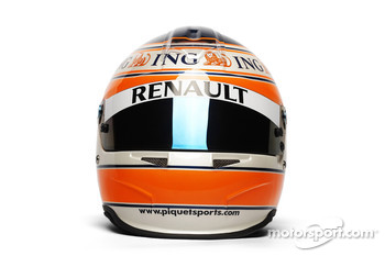 Helmet, Nelson A. Piquet, Renault F1 Team
