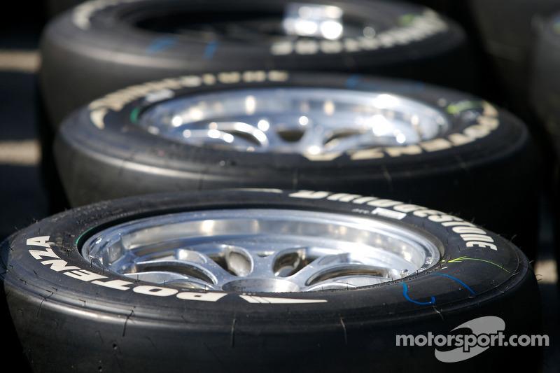 Bridgestone tires ready to go