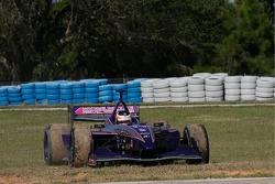 Mario Moraes after his spin