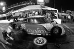 Pit stop for #99 GAINSCO/ Bob Stallings Racing Pontiac Riley: Jon Fogarty, Alex Gurney, Jimmie Johnson, Jimmy Vasser