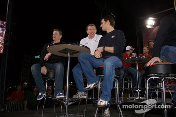 Dale Earnhardt Jr., Bill Elliott and Jeff Gordon