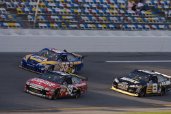 Carl Edwards, Michael Waltrip and Mark Martin