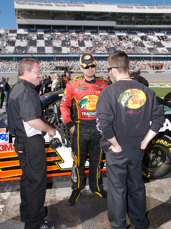 Martin Truex Jr. after his qualifying run