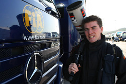 Gareth Bumstead F1 Photographer, and the FIA Trucks