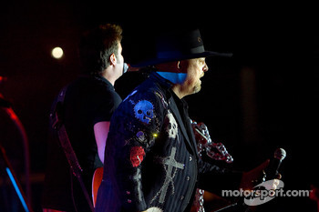 Montgomery Gentry performs at Destination Daytona as a part of the Jim Beam Speedweeks festivities