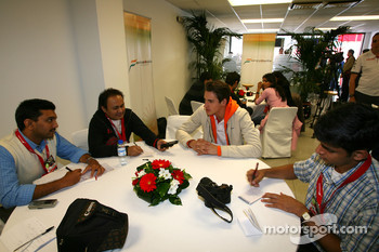 Adrian Sutil Force India F1 is interviewed