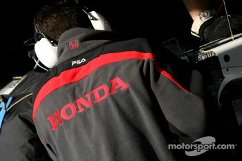 Honda Racing F1 Team mechanic
