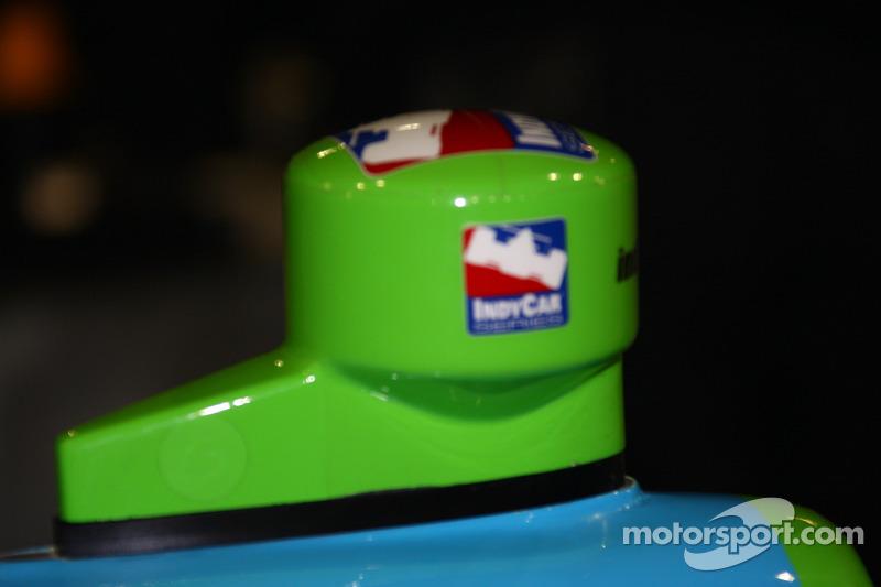 Rahal Letterman Racing car of Ryan Hunter-Reay
