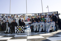 Victory lane: race winner Matt Kenseth celebrates with his team
