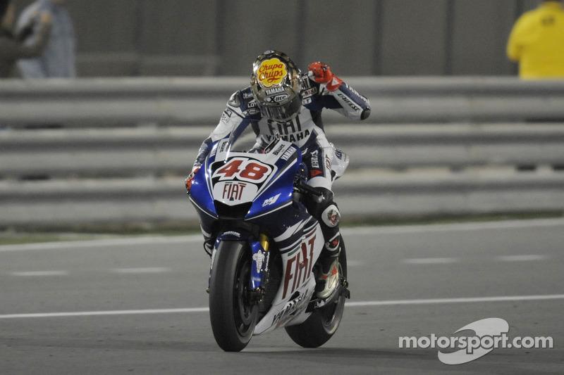 2008: MotoGP debut in Qatar