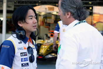 Sakon Yamamoto, Test Driver, Renault F1 Team