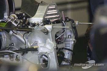Technical Feature, gear box of Nico Rosberg, WilliamsF1 Team