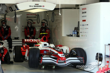 car of Anthony Davidson, Super Aguri F1 Team
