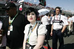 Kelly Osbourne, Music Artist, DJ and daughter of Ozzy Osbourne