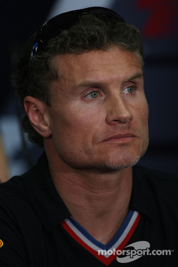 FIA press conference: David Coulthard, Red Bull Racing