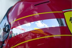 Ferrari crew helmet