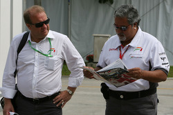 Vijay Mallya, Force India F1 Team, Team Owner and Kingfisher CEO