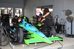 Rahal Letterman Racing team members at work