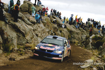 Andreas Aigner and Klaus Wicha, Mitsubishi Lancer Evolution IX