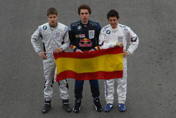 Formula BMW Europe 2008, Spanish Drivers Group Picture