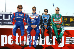 IndyCar drivers from Andretti Green Racing