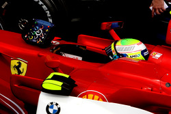 Second place Felipe Massa