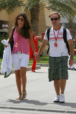 Silvana and Rubens Barrichello