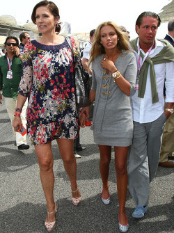 Slavica Ecclestone, Wife to Bernie Ecclestone and Petra Ecclestone, Daughter of Bernie Eccelestone