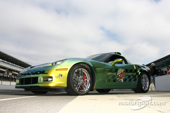The Chevrolet Corvette E85 Indianapolis 500 Pace Car