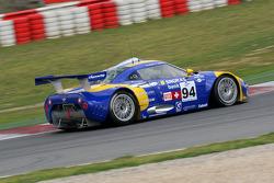 #94 Speedy Racing Team Spyker C8 Laviolette GT2R: Andrea Chiesa, Benjamin Leuenberger