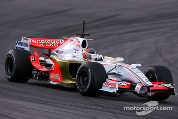 Vitantonio Liuzzi, Test Driver, Force India F1 Team, on slicks