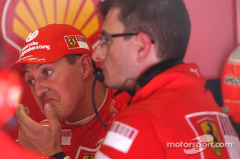 Michael Schumacher, Test Driver, Scuderia Ferrari